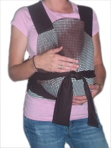 Mei Tai Baby Carrier -BROWN
